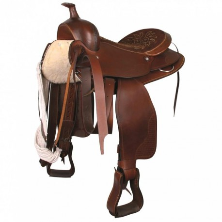 Selle western grand cheval