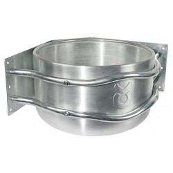 Mangeoire ronde aluminium