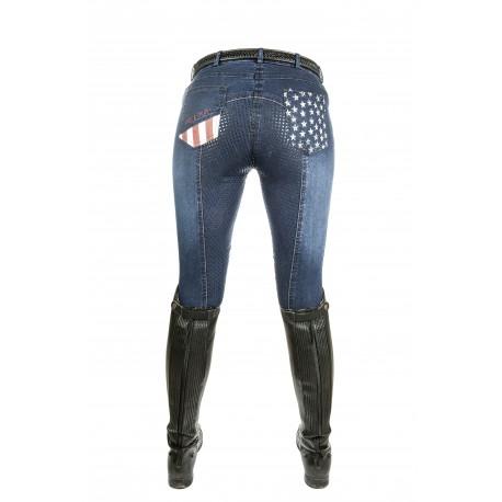 Pantalon d'équitation Stars & Stripes Denim