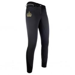 Pantalon softshell Pompöös fond 1/1 en silicone