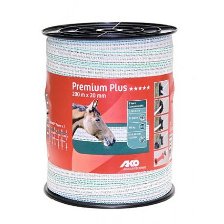 Ruban de clôture Premium Plus