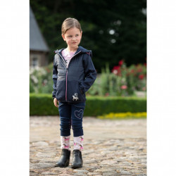 Veste Softshell bi matières Champ New Kids