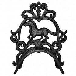 5 x Porte-bridon fer à cheval