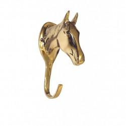 5 x Porte-bridon Tête de cheval